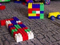 Beaucoup de détails multicolores des enfants réglés Photographie stock