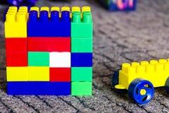 Beaucoup de détails multicolores des enfants réglés Image libre de droits