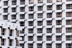 Beaucoup de fenêtre de fond de bâtiment Photographie stock libre de droits