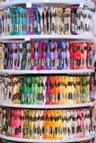 Beaucoup de fils pour la couture Photo stock