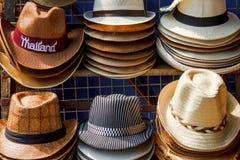 Beaucoup de genres de chapeaux Image libre de droits