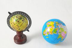 Beaucoup de globes Photos stock