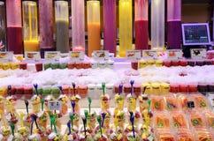 Beaucoup de mousses de fruit Images stock