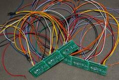 Beaucoup de panneaux de circuits imprimés photo libre de droits