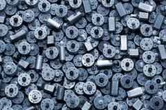 Beaucoup de petits moteurs électriques utilisés comme fond Photo libre de droits