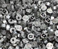 Beaucoup de petits moteurs électriques utilisés en tant que fond industriel Photographie stock libre de droits