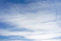 Beaucoup de petits nuages Photographie stock libre de droits