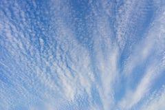 Beaucoup de petits nuages Photo libre de droits