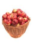 Beaucoup de pommes rouges Photographie stock