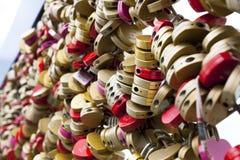 Beaucoup de serrures colorées Image libre de droits