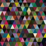Beaucoup de triangles multicolores pour votre fond Photo stock
