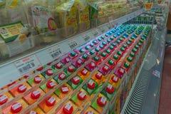 Beaucoup de types de jus de fruit Image stock