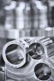 Beaucoup de types de métal détaille le fond de design industriel Image libre de droits
