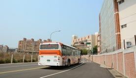 Beaucoup de véhicules sur la rue à Taichung Photographie stock libre de droits
