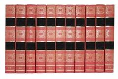 Beaucoup de vieux livres. Image libre de droits