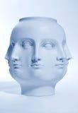 Beaucoup de visages Photo libre de droits