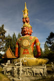 Beaucoup de visages de Bouddha Images libres de droits