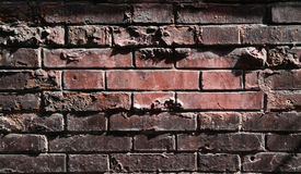 Beaucoup fond de mur de briques Photo stock