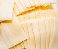 Le fromage arrangent comme fond Photographie stock libre de droits
