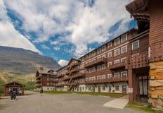 Beaucoup parc national de glacier d'hôtel de glacier Image stock