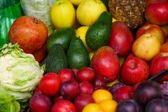 Beaucoup portent des fruits un bon nombre de fruit mûr Images libres de droits