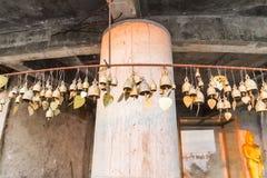 Beaucoup souhaitent des cloches et des coeurs à Phuket grande région de Bouddha, le point de repère o Photos libres de droits