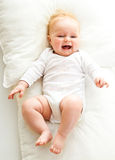 Beaufiful caucasian infant baby Royalty Free Stock Photography