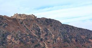 Beaufort城堡,黎巴嫩 库存照片