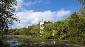 Beaufort,南卡罗来纳历史的区  免版税库存图片