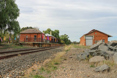 BEAUFORT,维多利亚,澳大利亚- 2016年5月4日: 免版税库存图片