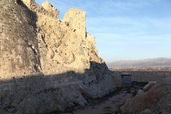 Beaufort Crusader Castle Stock Photos