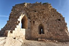 Beaufort Crusader Castle, South Lebanon Royalty Free Stock Images
