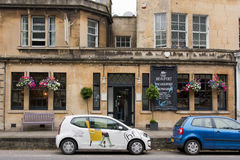 The Beaufort Public House. BATH, SOMERSET, UK - JULY 15 2016 Pub on London Road in the UNESCO World Heritage City of Bath, in Somerset, England Royalty Free Stock Photos