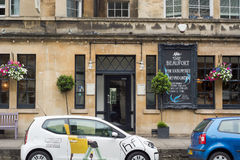 The Beaufort Public House close. BATH, SOMERSET, UK - JULY 15 2016 Pub on London Road in the UNESCO World Heritage City of Bath, in Somerset, England Stock Photo