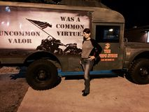 Beaufort, South Carolina. Near Marine Corps Recruit Depot Parris Island Stock Photo