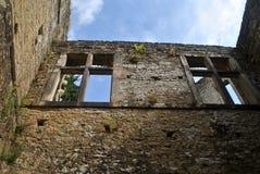 Beaufortkasteel, Luxemburg royalty-vrije stock fotografie