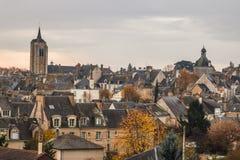Beaugency mitt, Loiret Arkivbilder