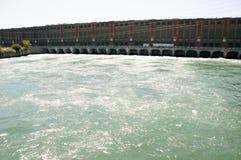 Beauharnois水坝-魁北克-加拿大 免版税库存照片