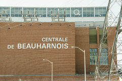 BEAUHARNOIS, CANADA - August 2, 2016:. Beauharnois Hydroelectric Generating Station is a national historic site of Canada and owned by Hydro-Quebec Stock Photos