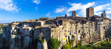 Beauiful medieval villages of Italy -Vitochiano Stock Photography