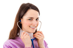 Beauiful young nurse Royalty Free Stock Photo