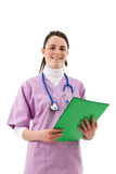 Beauiful young nurse Royalty Free Stock Image