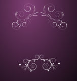 A beauitful Abstract Floral Design Royalty Free Stock Photography