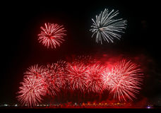 Beauitful Fireworks Royalty Free Stock Photo