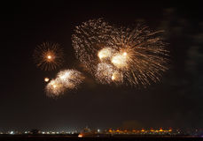 Beauitiful Fireworks Royalty Free Stock Images