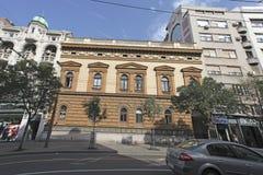 Beauitufl buildings in Terazije street, Belgrade. Serbia Royalty Free Stock Photography