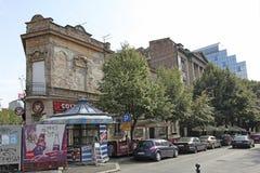 Beauitufl buildings in Terazije street, Belgrade. Serbia Stock Photos