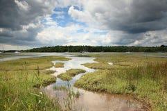 beaulieu河 库存图片