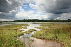 Beaulieu-Fluss stockbild