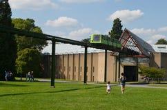 Beaulieu - oldelst Einschienenbahn in England Stockbilder